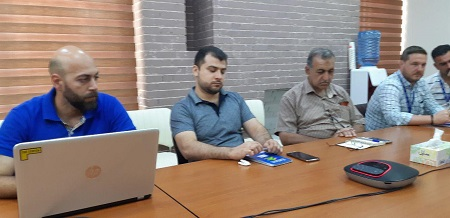 Tammuz participates in special working group on protection in Baghdad and Al-Anbar