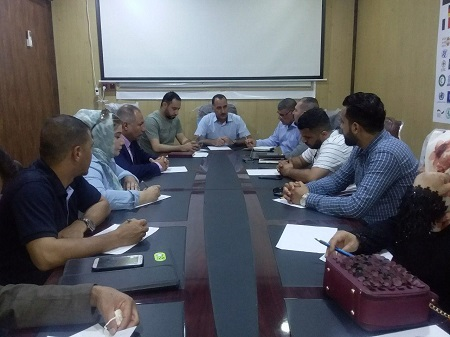 Al-anbar Takkamul Project Periodic Meeting Report
